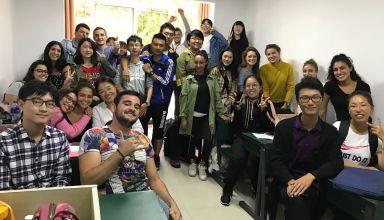 Elèves chinois accueillis dans notre classe